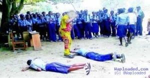 Lagos School Teacher Flogs Student Almost to Coma...Read What Parents Did